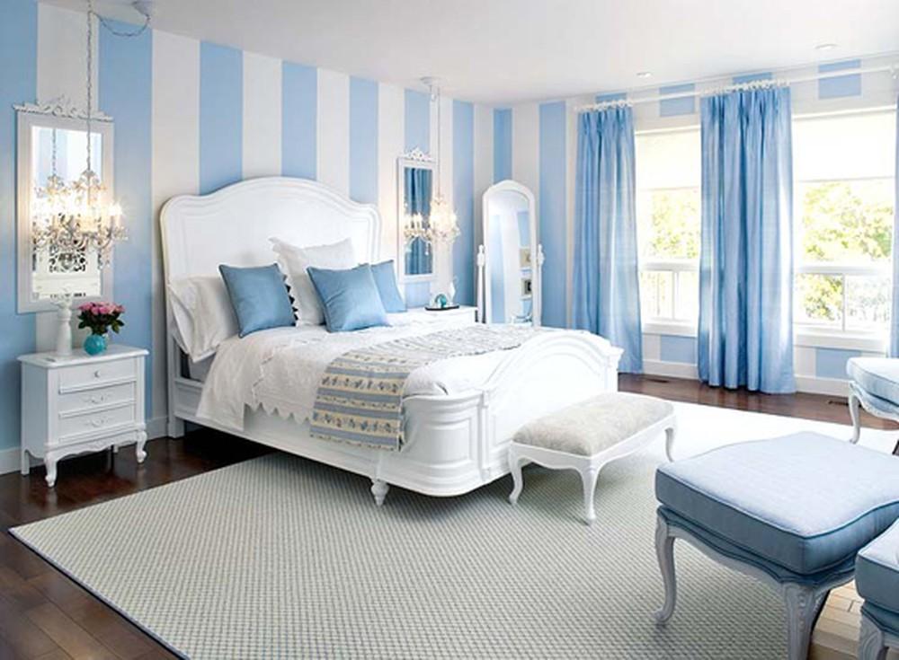 Lựa chọn màu sắc nhẹ nhàng trong phong thủy phòng ngủ
