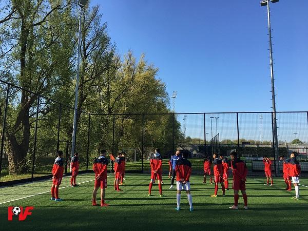 Đại diện Việt Nam đấu Atletico Madrid