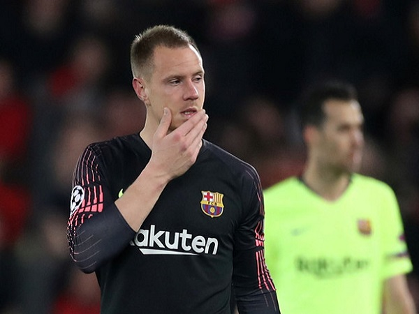 Barcelona mất thủ môn số 1 trong trận CK Cúp Nhà vua