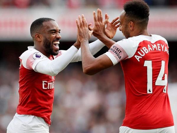 Arsenal tăng lương, giữ chânbộ đôi Aubameyang - Lacazette
