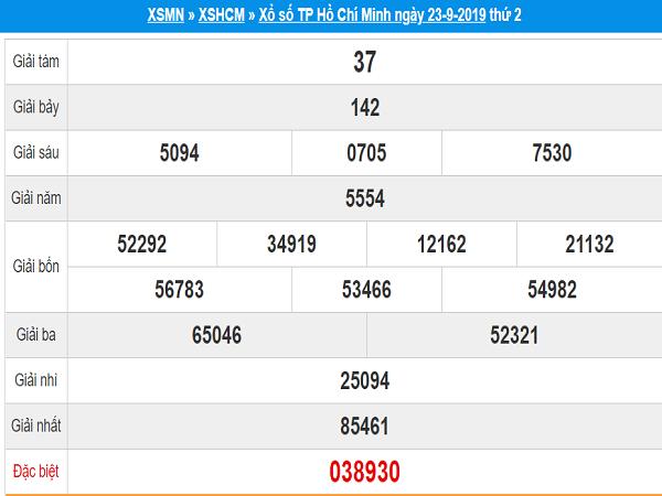 Dự đoán tổng hợp XSHCM ngày 30/09 tỷ lệ trúng cao