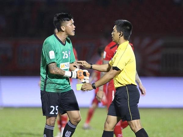 Dược Nam Hà muốn chiêu mộ thủ môn Lê Văn Hưng
