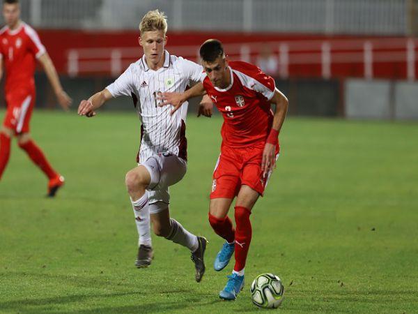 Nhận định soi kèo U21 Latvia vs U21 Serbia, 21h00 ngày 4/9