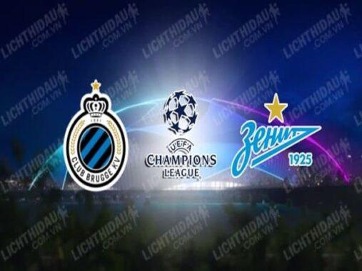 Nhận định Club Brugge vs Zenit, 03h00 ngày 3/12