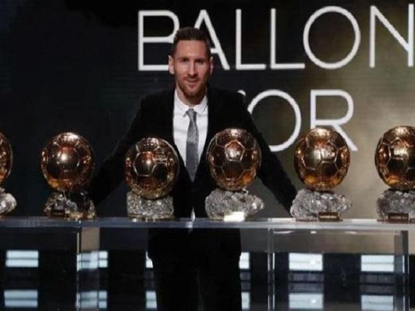 Lionel Messi có bao nhiêu quả bóng vàng?
